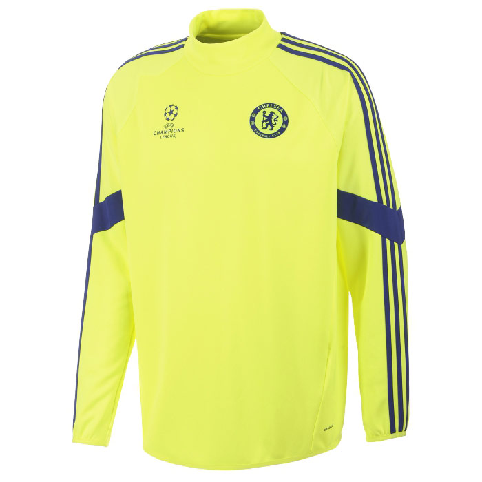 85a5b9e2fb0 Chelsea Sweat Top europees adidas 14/15 electricity - 247 voetbalshop